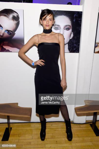 Georgia Fowler attends Marc Jacobs Beauty Celebrates Kaia Gerber on February 15 2017 in New York City