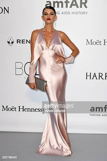 Georgia Fowler attends the amfAR's 23rd Cinema Against AIDS Gala at Hotel du CapEdenRoc on May 19 2016 in Cap d'Antibes France