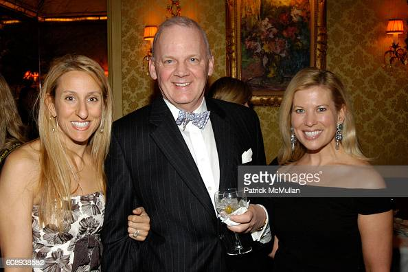 Georgia Frasch James Booth and Tina Lundgren attend 30th Anniversary of NATORI Honoring JOSIE NATORI at La Grenouille on November 1 2007 in New York