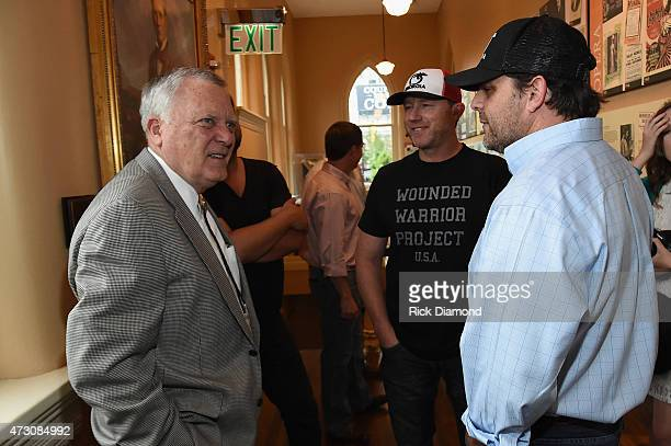 Georgia Governor Nathan Deal and Peach Pickers Ben Hayslip and Rhett Akins attend 'Georgia on My Mind hosted by the Peach Pickers and Friends' a...