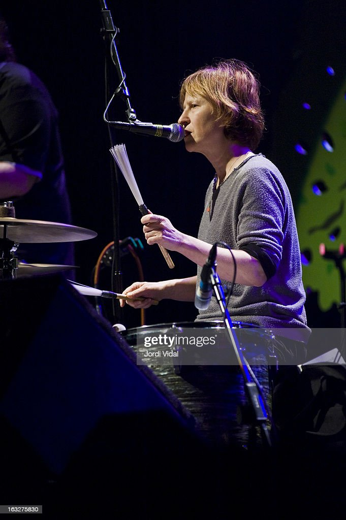Georgia Hubley of Yo La Tengo performs on stage during Festival del Mil.lenni at L'Auditori on March 6, 2013 in Barcelona, Spain.