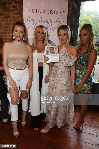 Georgia Kousoulou Kate Wright and Amber Dowding join Lydia Rose Bright as she celebrates the release of her new book' Live Laugh Love Always Lydia'...