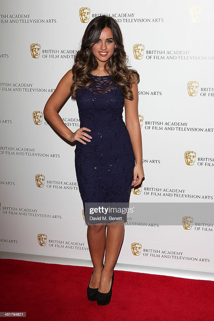 Georgia May Foote attends the British Academy Children's Awards at the London Hilton on November 24, 2013 in London, England.