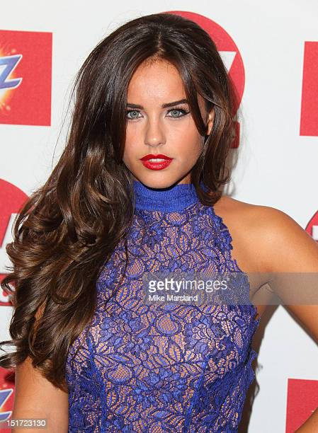 Georgia May Foote attends the TV Choice awards 2012 at The Dorchester on September 10 2012 in London England