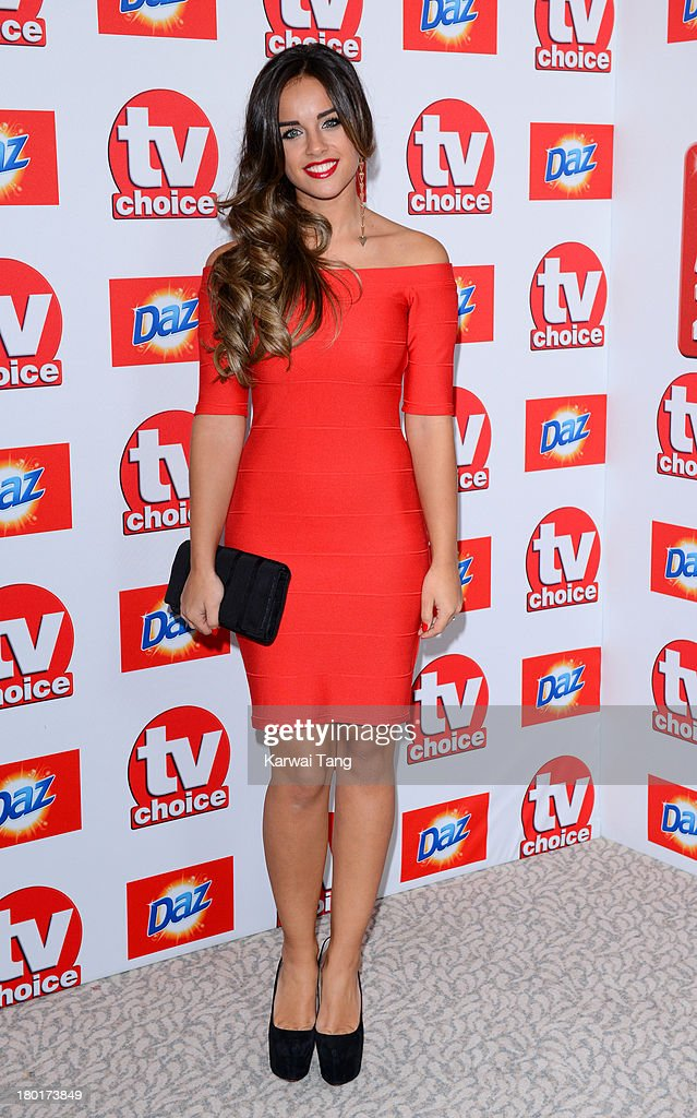 Georgia May Foote attends the TV Choice Awards 2013 at The Dorchester on September 9, 2013 in London, England.