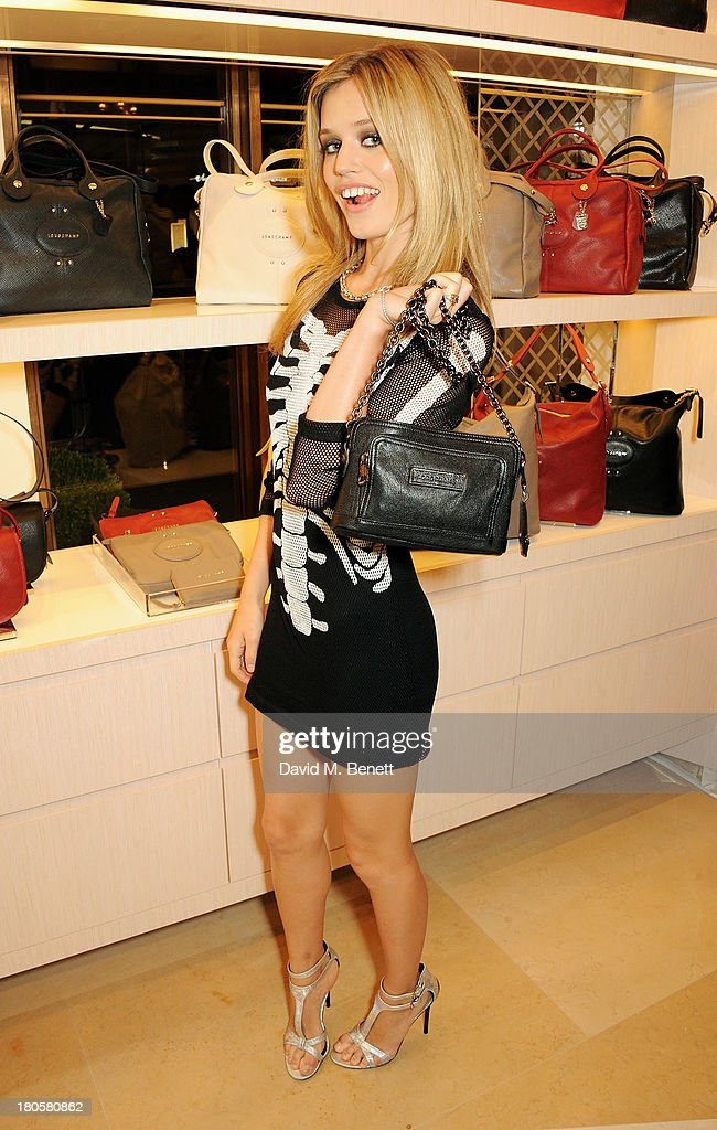 Georgia May Jagger attend the launch of the Longchamp London flagship store on September 14, 2013 in London, England.