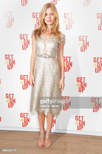 Georgia May Jagger attends a special screening of 'Get On Up' at The Ham Yard Hotel on September 14 2014 in London England