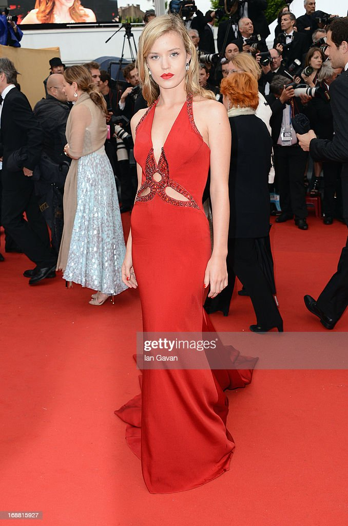 Georgia May Jagger attends Electrolux at Opening Night of The 66th Annual Cannes Film Festival at the Theatre Lumiere on May 15, 2013 in Cannes, France.