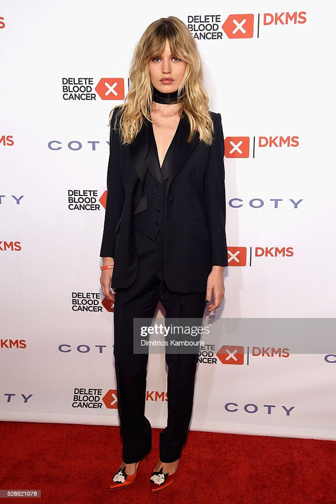 Georgia May Jagger attends the 10th Annual Delete Blood Cancer DKMS Gala at Cipriani Wall Street on May 5, 2016 in New York City.