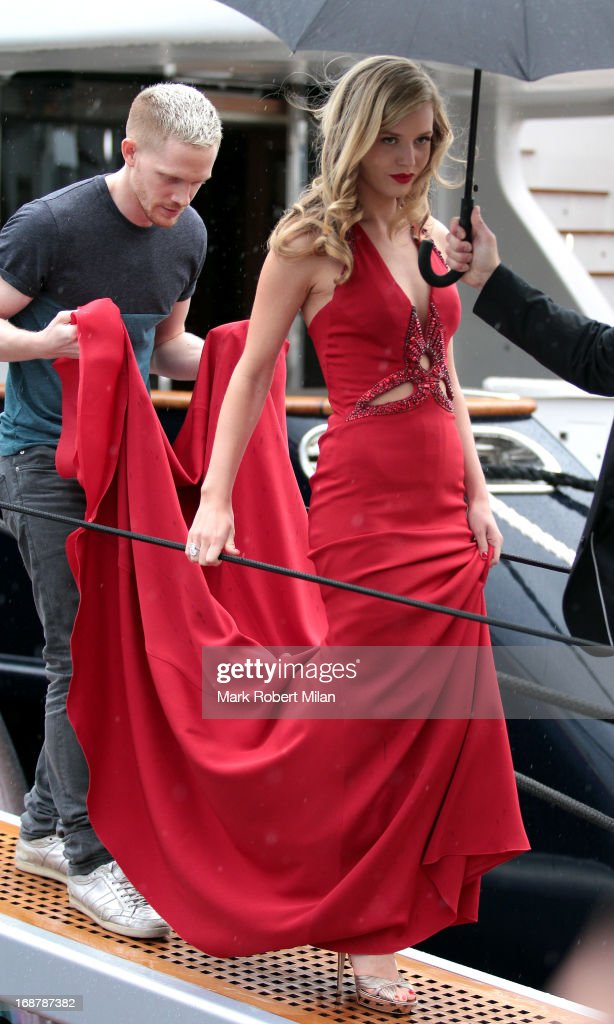 Georgia May Jagger attends The 66th Annual Cannes Film Festival on May 15, 2013 in Cannes, France.