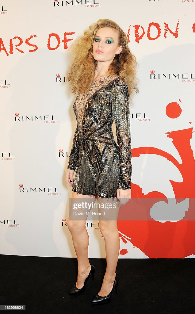 Georgia May Jagger attends the Rimmel London 180 Years of Cool party at the London Film Museum on October 10, 2013 in London, England.