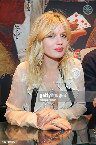 Georgia May Jagger attends the Thomas Sabo Brand Event at the Thomas Sabo Store on December 3 2015 in Vienna Austria