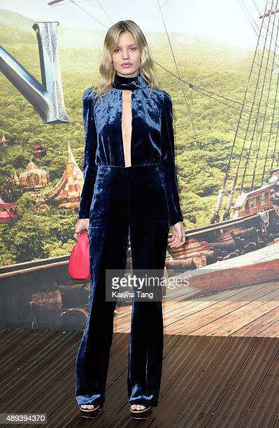 Georgia May Jagger attends the World Premiere of 'Pan' at Odeon Leicester Square on September 20 2015 in London England