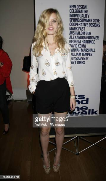 Georgia May Jagger during the launch of 'All Walks Beyond The Catwalk' an initiative to create a positive message for women of all shapes sizes and...
