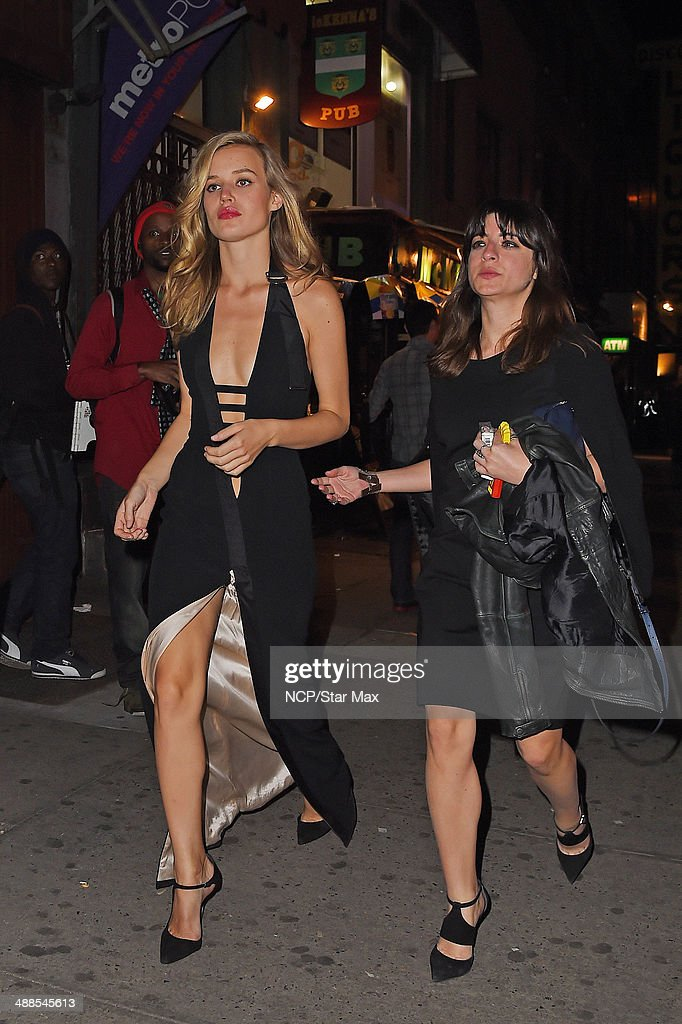 Georgia May Jagger is seen at the after-party for The Costume Institute Benefit Gala on May 5, 2014 in New York City.