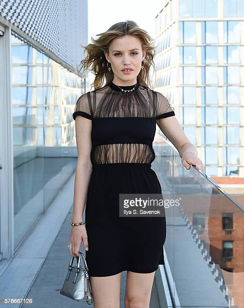 Georgia May Jagger poses at the Thomas Sabo Autumn/Winter 2016 Collection Hosted by Georgia May Jagger on July 21 2016 in New York City
