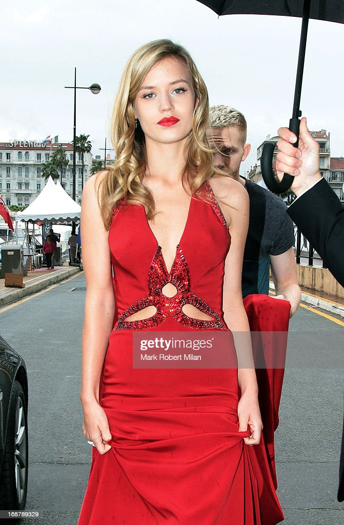 Georgia May Jagger The 66th Annual Cannes Film Festival on May 15, 2013 in Cannes, France.