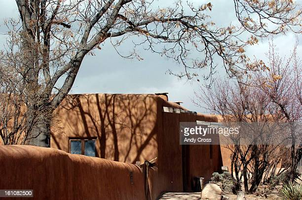 FE NMMARCH 10TH 2006 Georgia O'Keeffe's winter home in Abiquiu New Mexico photographed from the road Friday afternoon THE DENVER POST/ ANDY CROSS