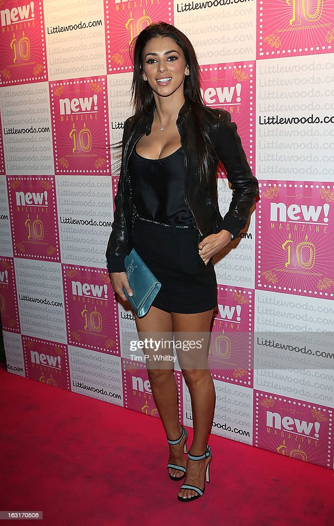 Georgia Salpa attends New Magazine Celebrates 10 years in print at Gilgamesh on March 5, 2013 in London, England.