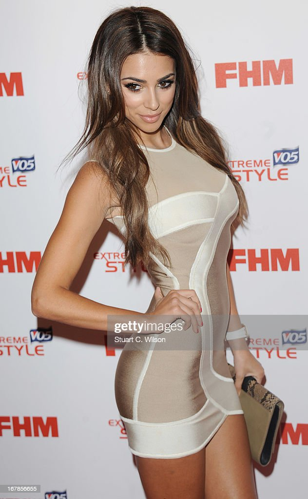 Georgia Salpa attends the FHM 100 Sexiest Women In The World 2013 Launch Party at Sanderson Hotel on May 1, 2013 in London, England.