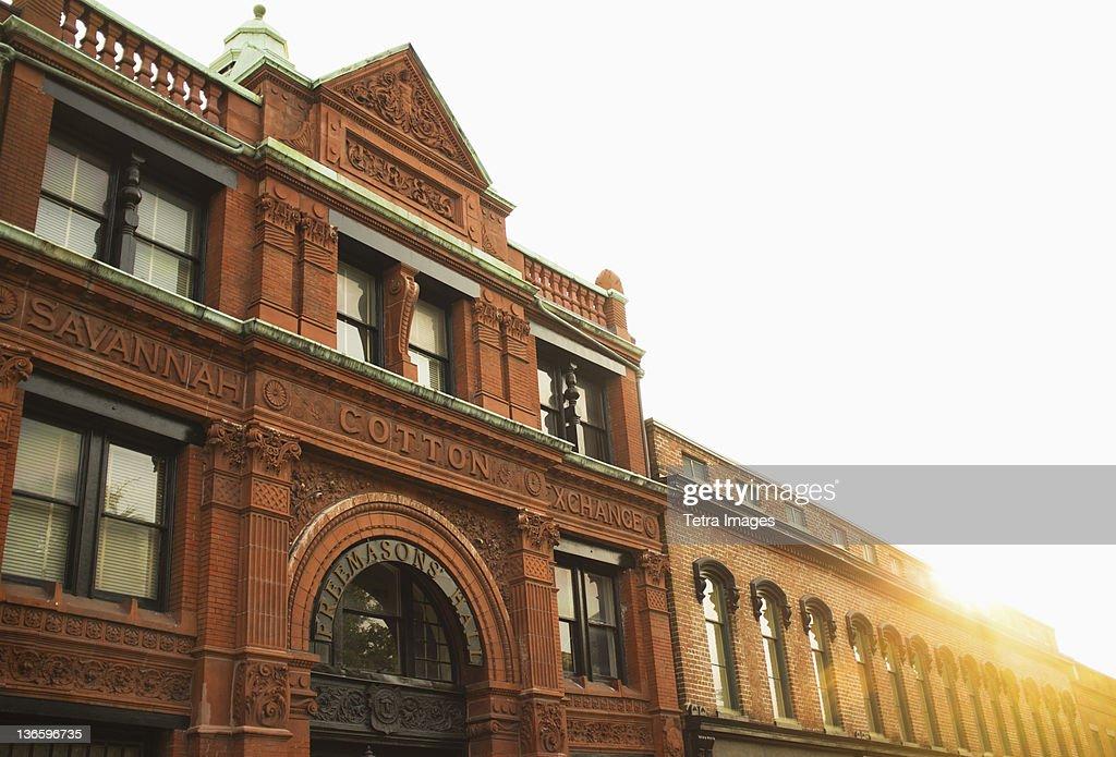 USA, Georgia, Savannah, Old Savannah Cotton Exchange