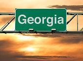A Georgia road sign concept.