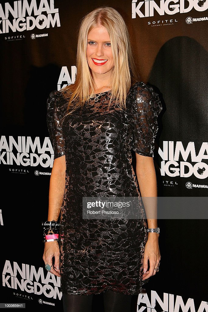 Georgia Sinclair arrives at the premiere of 'Animal Kingdom' at Hoyts Melbourne Central on May 24, 2010 in Melbourne, Australia.