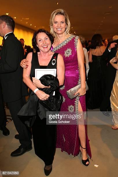 Georgia Tornow and Carola Ferstl during the 23rd Opera Gala at Deutsche Oper Berlin on November 5 2016 in Berlin Germany