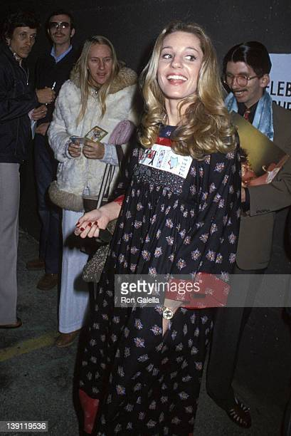 Georgianne LaPierre attends Toto in Concert on February 9 1979 at The Roxy Theatre in West Hollywood California