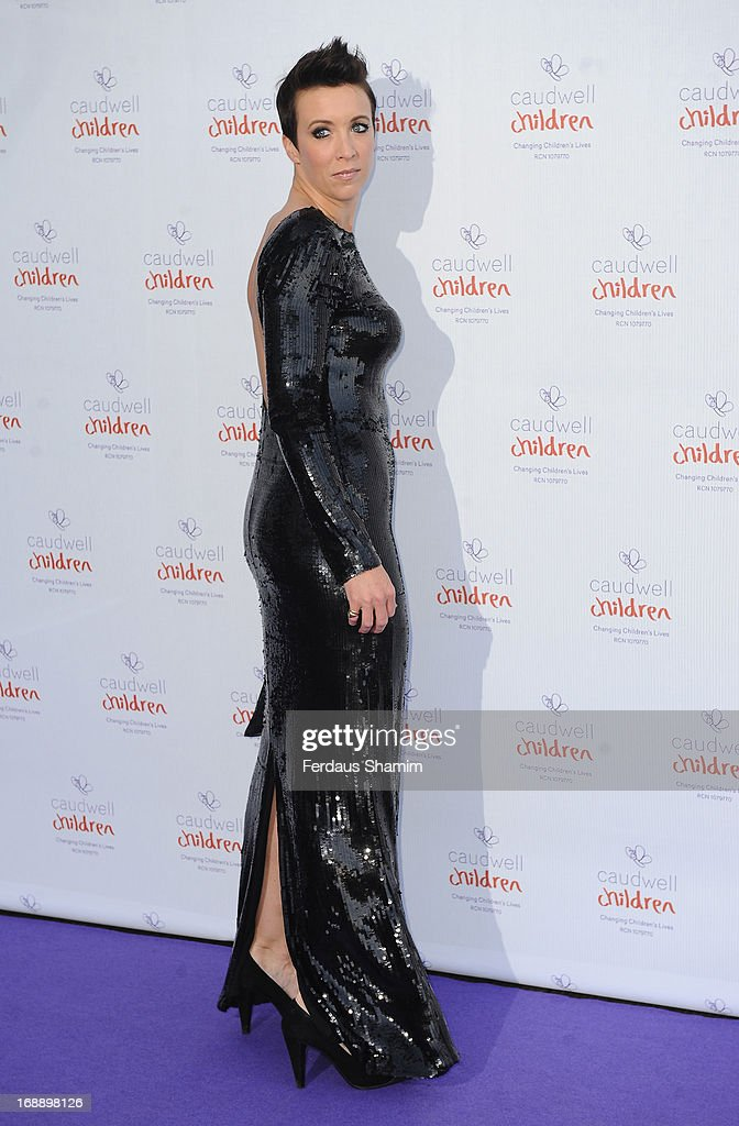 Georgie Bingham attends The Butterfly Ball: A Sensory Experience in aid of the Caudwell Children's charity at Battersea Evolution on May 16, 2013 in London, England.