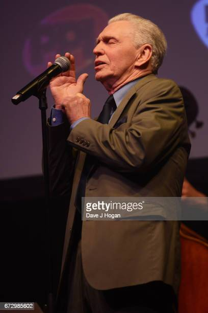 Georgie Fame performs at the Jazz FM Awards 2017 at Shoreditch Town Hall on April 25 2017 in London United Kingdom