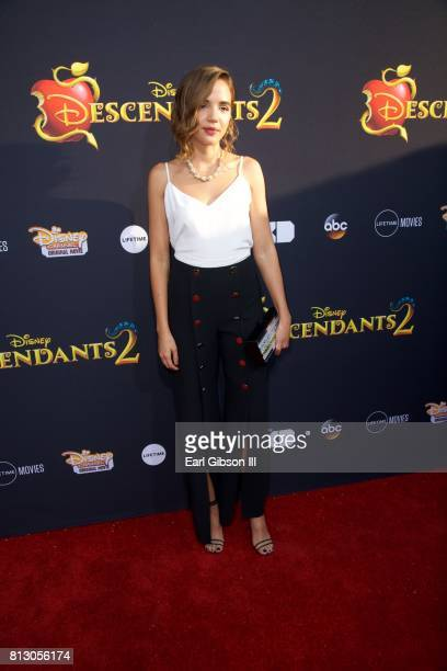 Georgie Flores attends the Premiere Of Disney Channel's 'Descendants 2' at The Cinerama Dome on July 11 2017 in Los Angeles California