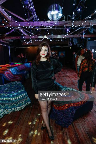 Georgie Henley attends the 'Access All Areas' gala screening in aid of Teenage Cancer Trust at Proud Camden on October 17 2017 in London England