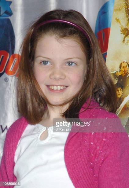 Georgie Henley during The Cast of 'The Chronicles of Narnia' Donates Memorabila at Planet Hollywood in Times Square December 9 2005 at Planet...