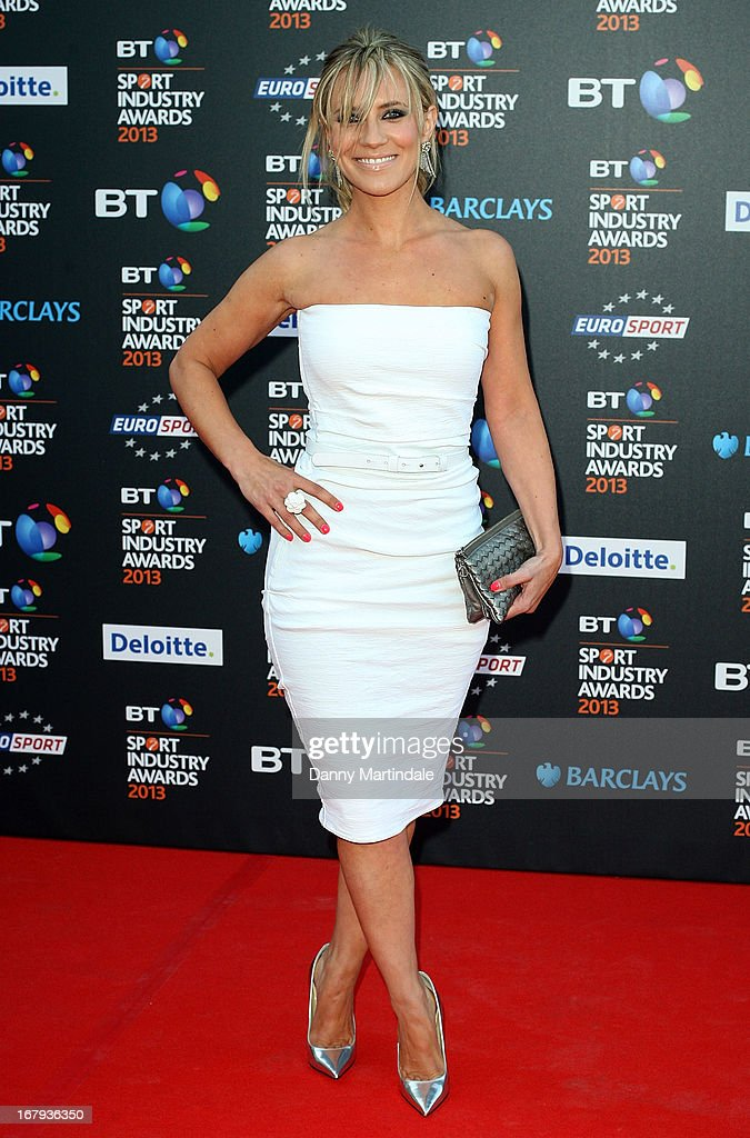 Georgie Thompson attends the BT Sports Industry awards at Battersea Evolution on May 2, 2013 in London, England.