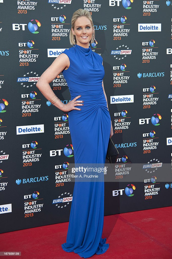 Georgie Twigg attends the BT Sports Industry awards at Battersea Evolution on May 2, 2013 in London, England.