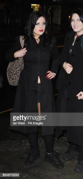 Georgina Baillie and the Satanic Sluts arrive at Secret's Lap Dancing club in central London