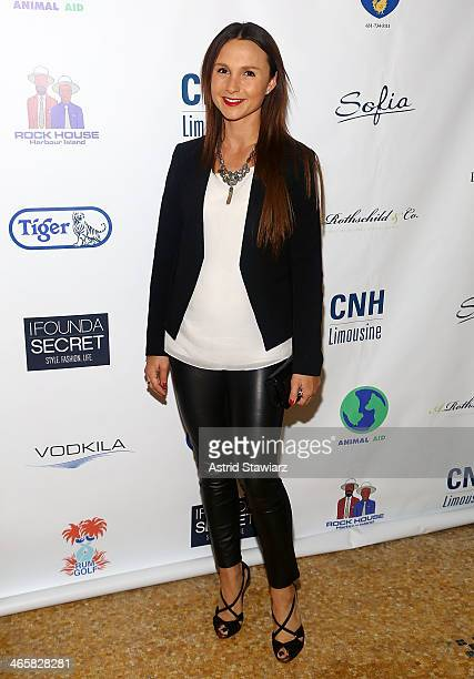 Georgina Bloomberg 2014 Animal USA Event at The Jane Hotel on January 29 2014 in New York City