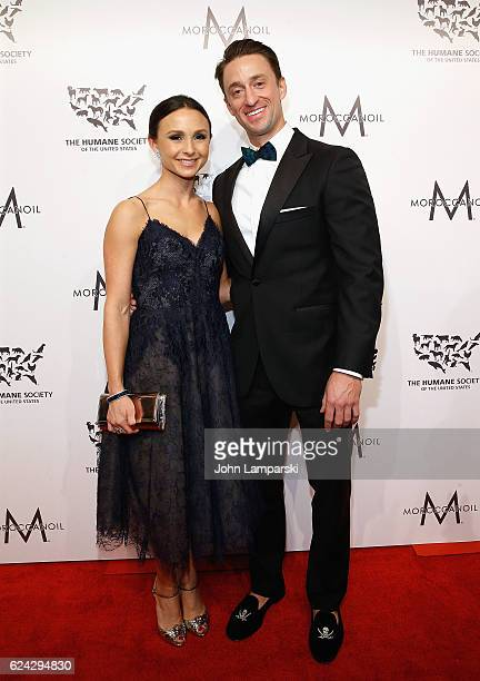 Georgina Bloomberg and Carlos Arruza Jr attend 2016 Humane Society of the United States to the Rescue New York Saving Animal Lives at Cipriani 42nd...