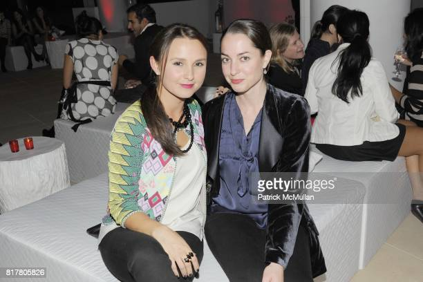 Georgina Bloomberg and Clotilde Hainline attend The Young Friends of The ASPCA presents 'MISSION ADOPTABLE' Annual Fundraiser at The IAC Building on...