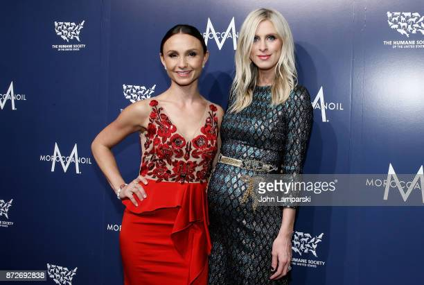 Georgina Bloomberg and Nicky Hilton Rothschild attends 2017 Humane Society of The United States to the Rescue New York Gala at Cipriani 42nd Street...