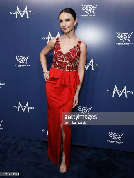 Georgina Bloomberg attends 2017 Humane Society of The United States to the Rescue New York Gala at Cipriani 42nd Street on November 10 2017 in New...