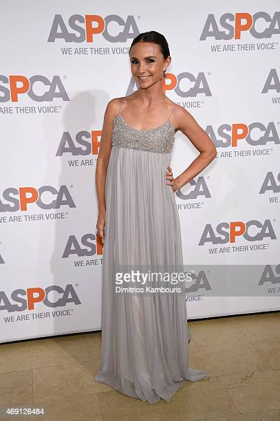 Georgina Bloomberg attends ASPCA'S 18th Annual Bergh Ball honoring Edie Falco and Hilary Swank at The Plaza Hotel on April 9 2015 in New York City