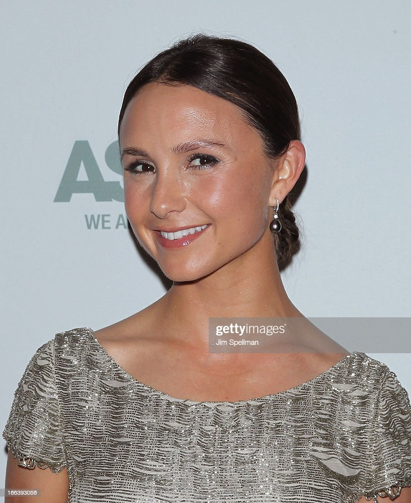 Georgina Bloomberg attends the 16th Annual ASPCA Bergh Ball at The Plaza Hotel on April 11, 2013 in New York City.