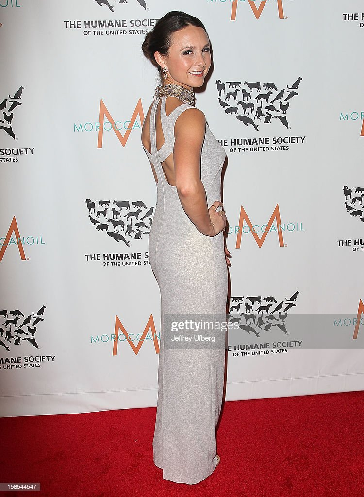 Georgina Bloomberg attends The Humane Society of the United States presents To The Rescue! gala benefiting post hurricane Sandy efforts at Cipriani 42nd Street on December 18, 2012 in New York City.