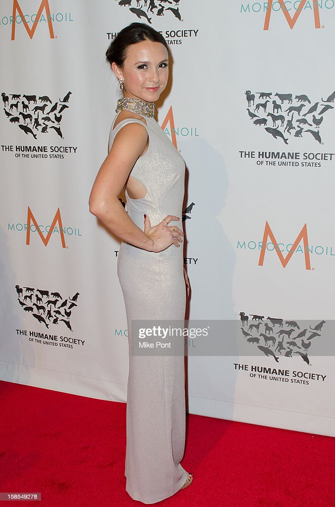 Georgina Bloomberg attends The Humane Society of the United States presents the To The Rescue! gala benefiting post hurricane Sandy efforts at Cipriani 42nd Street on December 18, 2012 in New York City.