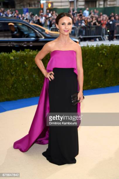Georgina Bloomberg attends the 'Rei Kawakubo/Comme des Garcons Art Of The InBetween' Costume Institute Gala at Metropolitan Museum of Art on May 1...