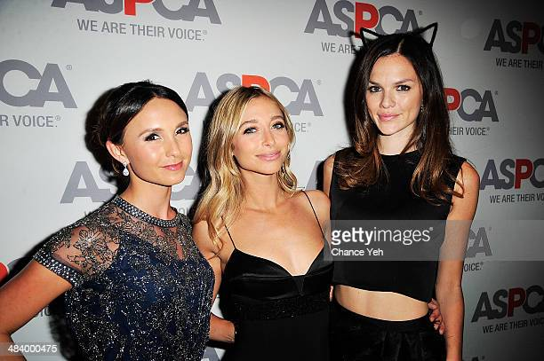 Georgina Bloomberg Jessie Schuster and Allie Rizzo attend ASPCA's 17th annual Bergh Ball Gala at The Plaza Hotel on April 10 2014 in New York City