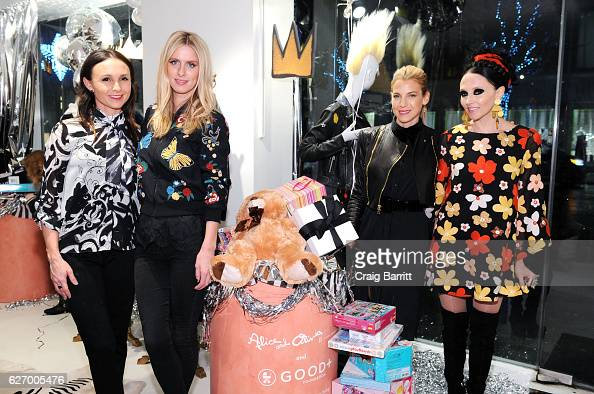 Georgina Bloomberg Nicky Hilton Jessica Seinfeld and Stacey Bendet attend alice olivia by Stacey Bendet x GOOD Foundation Toy Drive KickOff on...
