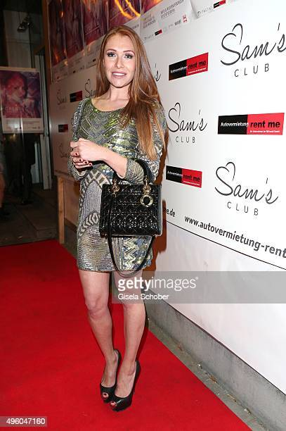 Georgina Buelowius during the opening of the night club Sam's on November 6 2015 in Munich Germany